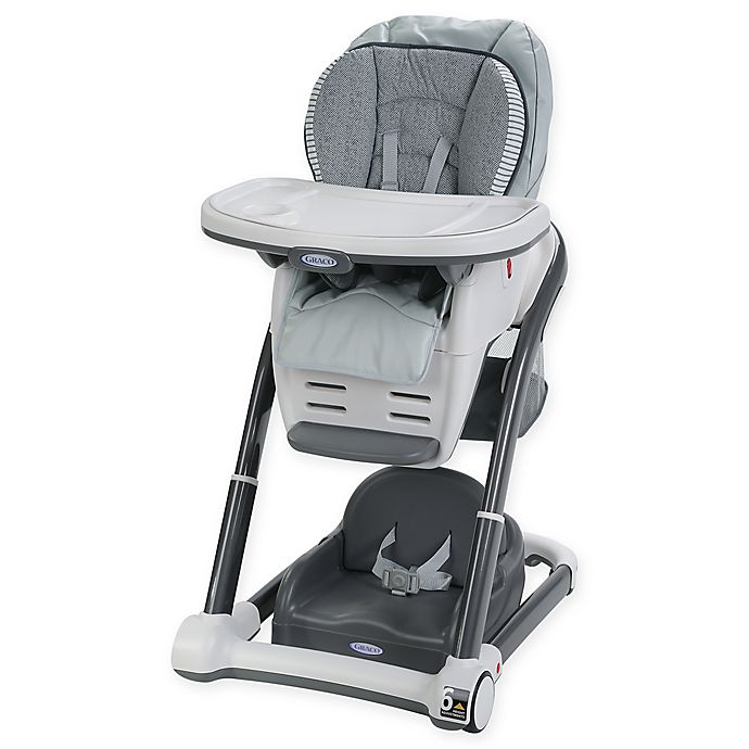 Alternate image 1 for Graco® Blossom™ LX 6-in-1 Convertible Highchair in Raleigh