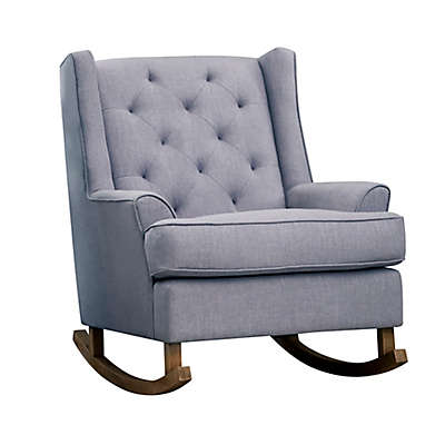 Abbyson Living® Sabrina Tufted Rocking Chair in Grey