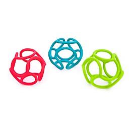 Ogosport Bolli 3-Pack Tactile and Sensory Ball Peg Toy