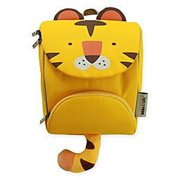 Milo & Gabby Tom Animal Shaped Backpack with Safety Strap in Yellow