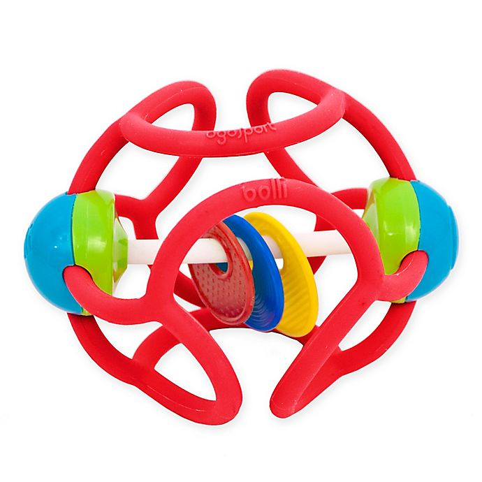 Alternate image 1 for Bolli Squishy Rattle and Teether