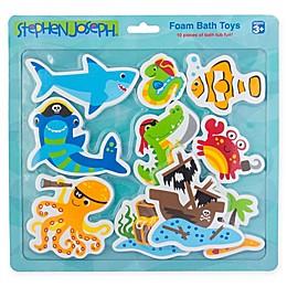 Stephen Joseph® 10-Piece Pirate-Themed Foam Bath Toy Set