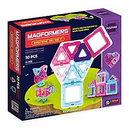 Magformers® 30-Piece Inspire Building Set