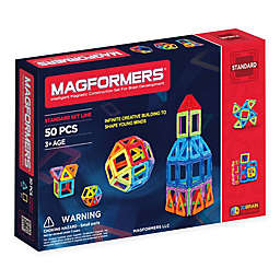Magformers® 50-Piece Rainbow Set