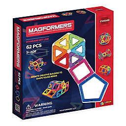 Magformers® 62-Piece Rainbow Set