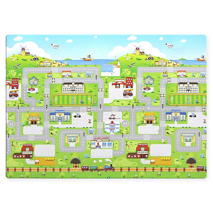 Alternate image 1 for Baby Care Outdoor Picnic Mat in Town