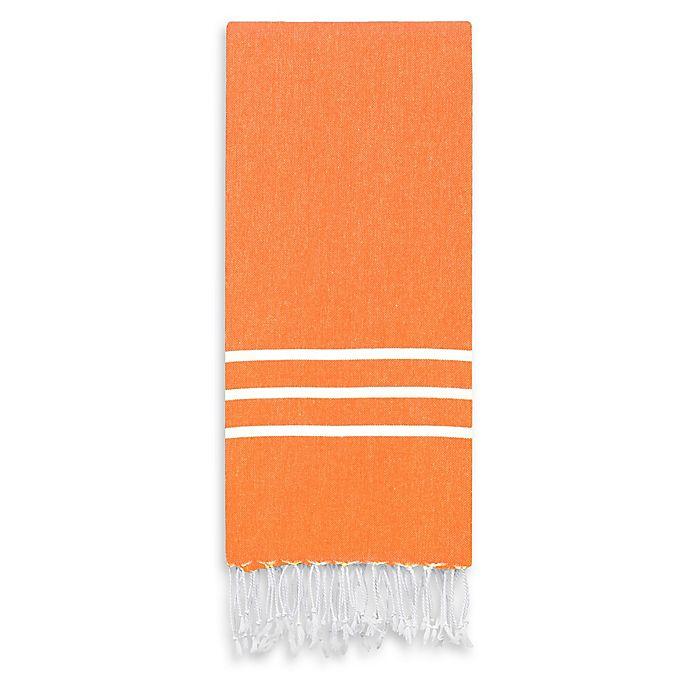 Alternate image 1 for Linum Home Textiles Alara Beach Towel in Orange