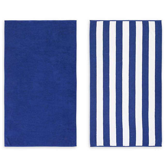 Alternate image 1 for American Dawn Savannah Beach Towel (Set of 2)