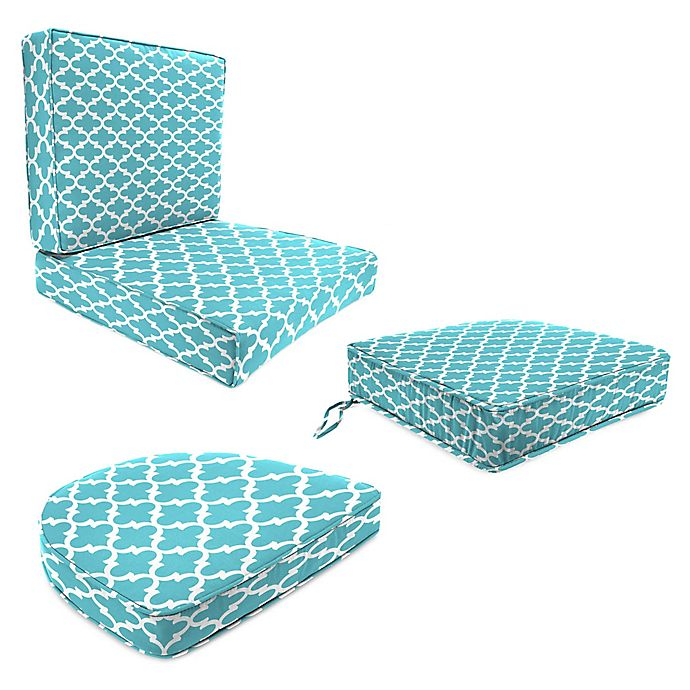 Jordan Manufacturing Fulton Outdoor Cushion Collection In Ocean