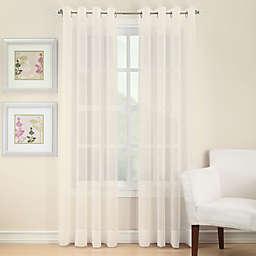 Voile Sheer Grommet Window Curtain Panel