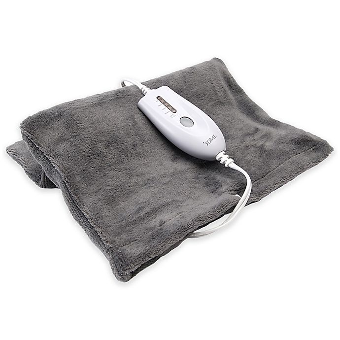 Alternate image 1 for DMI Moist Heat Electric Heating Pad in Grey