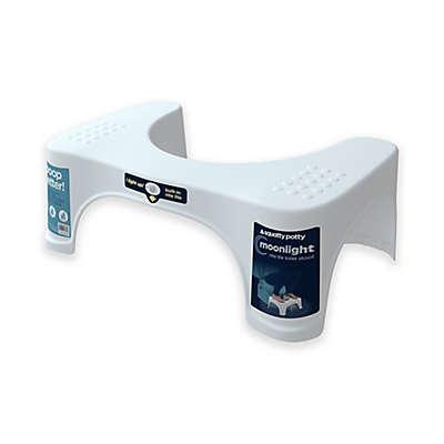Squatty Potty® Moonlight 7-Inch Toilet Stool in White