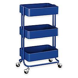 Raleigh 3-Tiered Metal Storage Cart
