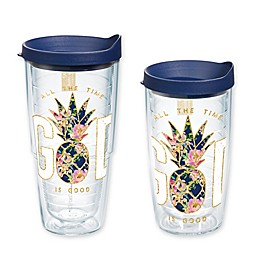 Tervis® God is Good Pineapple Tumbler with Lid