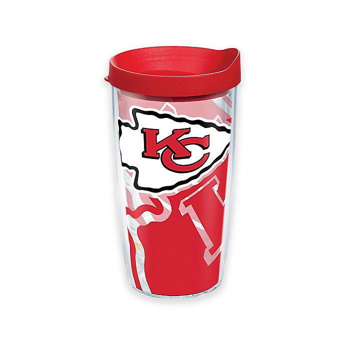 Alternate image 1 for Tervis® NFL Kansas City Chiefs 16 oz. Wrap Tumbler with Lid