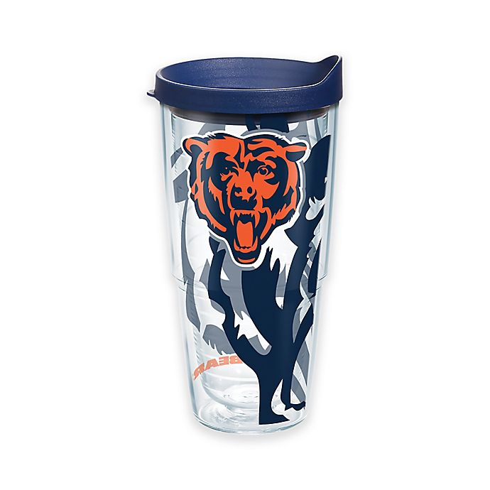 Alternate image 1 for Tervis® NFL Chicago Bears 24 oz. Wrap Tumbler with Lid