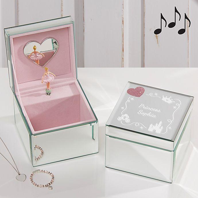 Alternate image 1 for Princess Ballerina Musical Jewelry Box