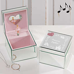 Princess Ballerina Musical Jewelry Box