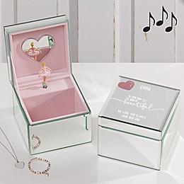 Her Heart Ballerina Musical Jewelry Box