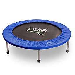 Pure Fun 40-Inch Mini Trampoline in Blue