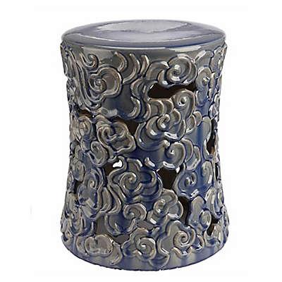 Abbyson Living® Teagan 18-Inch Ceramic Garden Stool