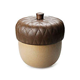Qualy Acorn Container in Brown