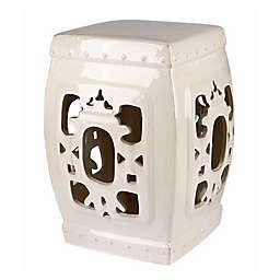 Abbyson Living® Akane Asian 19.5-Inch Ceramic Garden Stool