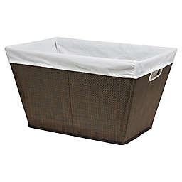 Parker Laundry Basket in Brown