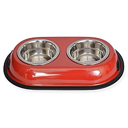 Iconic Pet Double Diner Feeding Bowls (Set of 2)