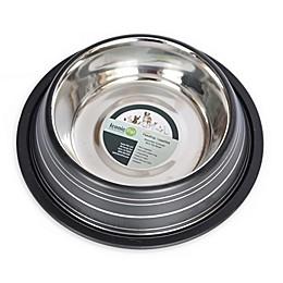 ICONIC PET Color Splash Stripe Non-Skid Pet Bowls