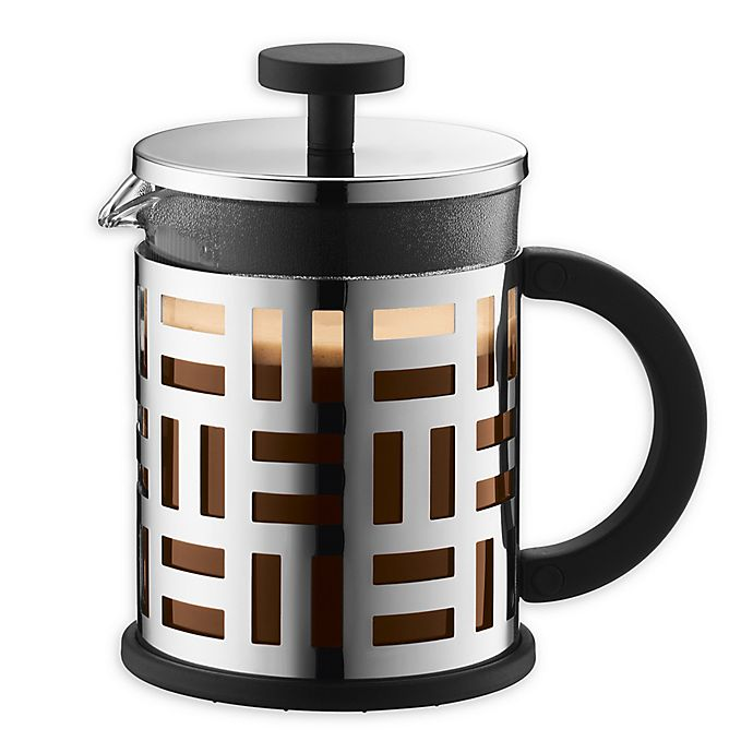 Alternate image 1 for Bodum® Eileen 4-Cup French Press Coffee Maker in Chrome