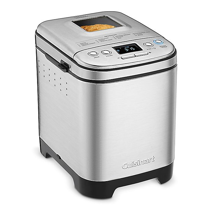 Alternate image 1 for Cuisinart® Compact Stainless Steel Automatic Bread Maker