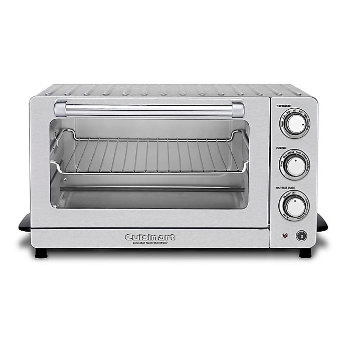 Alternate image 1 for Cuisinart® Toaster Oven Broiler with Interior Oven Light in Stainless Steel