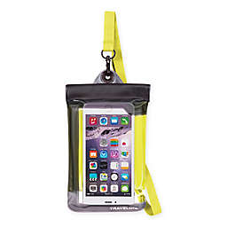 Travelon® Waterproof Smart Phone/Digital Camera Pouch in Yellow