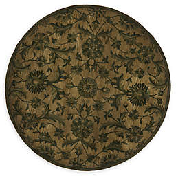 Safavieh Antiquity Omid 6' Round Hand-Tufted Area Rug in Olive