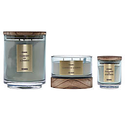 DW Home Bamboo and Jasmine Wood-Accent Jar Candle Collection