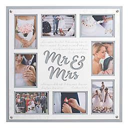 Malden® 8-Photo Mr and Mrs Collage Frame