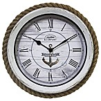 FirsTime & Co.® Dock Rope Wall Clock