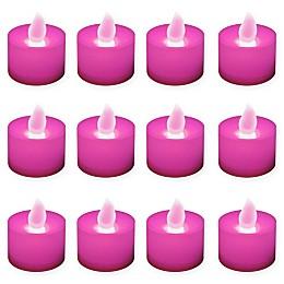 LumaBase® 12-Count LED Tea Light Candles