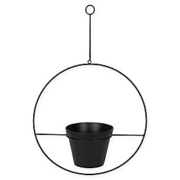 Kate and Laurel Opyd Plant Holder in Black