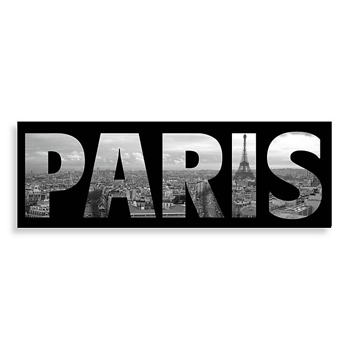 Paris Wall Art Bed Bath Amp Beyond