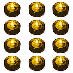 12-Count Submersible LED Lights in Amber