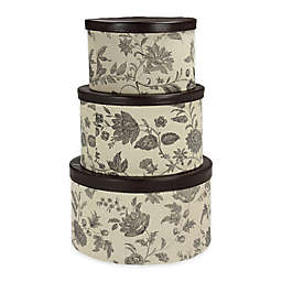 Household Essentials® 3-Piece Hat Box Set