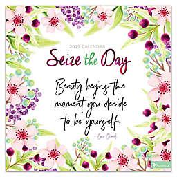 Seize the Day 2019 Wall Calendar