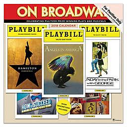 On Broadway 2019 Wall Calendar