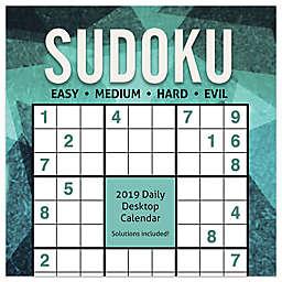 Sudoku 2019 Daily Desktop Calendar