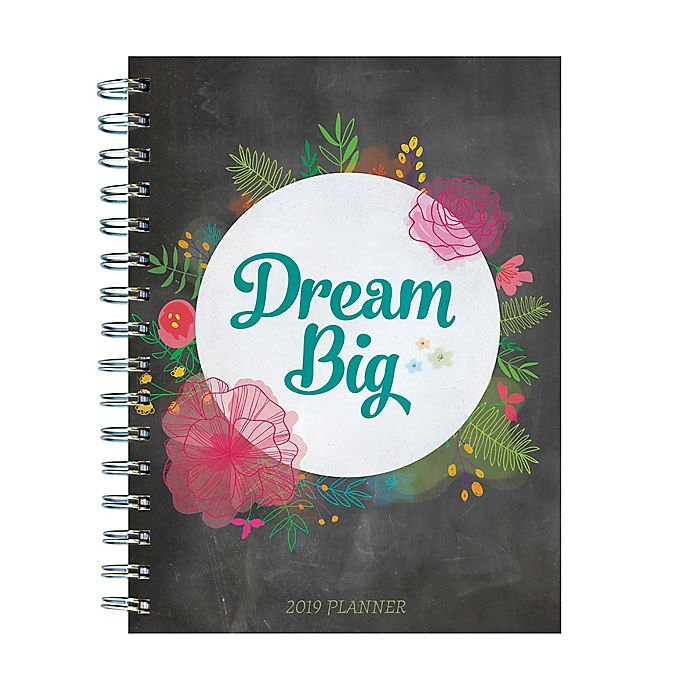 Alternate image 1 for Dream Big Weekly/Monthly July 2018 - June 2019 Planner