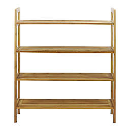 Oceanstar Design 4-Tier Bamboo Shoe Rack