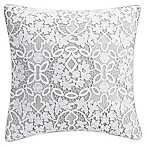 Bridge Street Anabelle Lace Square Throw Pillow in White