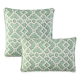 Waverly® Lexie Outdoor Throw Pillow in Green